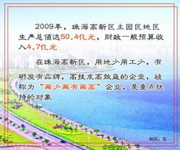 走出珠海机场,穿过一条马路,便来到了珠海航空产业园的办公楼。办公楼西南方向不远处,一大片厂房拔地而起,那是中航通用飞机公司的厂房,今后将组装公务机及水陆两栖飞机,生产的首架飞机将在今年举行的第八届中国国际航空航天博览会上正式亮相。珠海航空城发展集团有限公司总经理李国明告诉记者。已经举办了七届的珠海航展,将第一次迎来本地生产的飞机。 2008年11月正式开园的珠海航空产业园,规划总面积达到97.