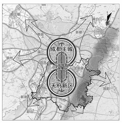 天府新区总体规划亮相
