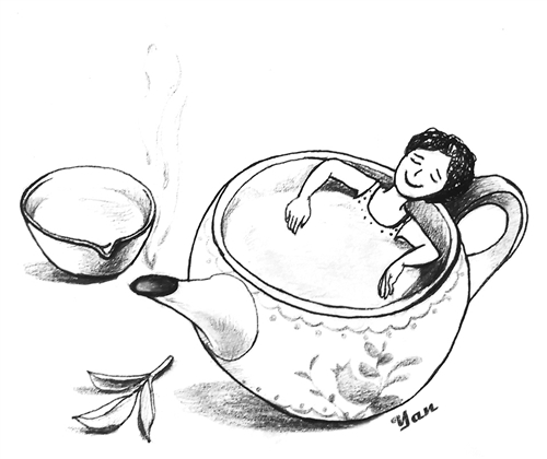 茶叶简笔画图片大全