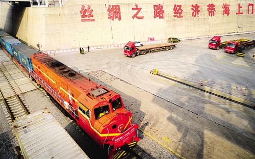 这是哈萨克斯坦小麦首次从中国过境发往东南亚市场,标志着中哈粮