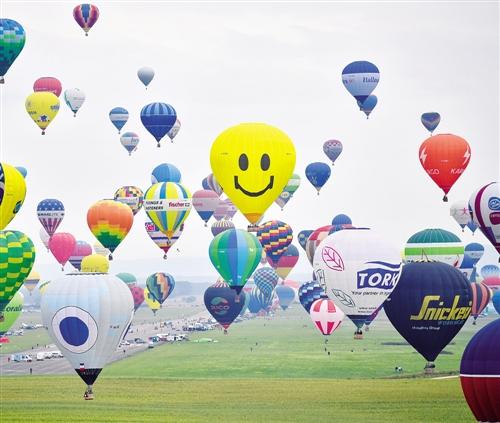 法国举行国际热气球节