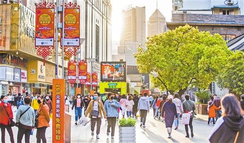 合肥淮河路步行街:改面貌 提人气